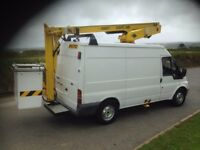 FORD TRANSIT CHERRY PICKER ACCESS PLATFORM VERSALIFT