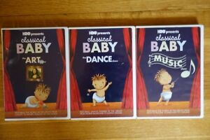 CHILDREN LEARNING HBO CLASSICAL BABY DVD Set