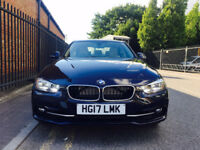 BMW 3 SERIES 2.0 330e SPORT 2017 DONE ONLY 2100 SALOON AUTO 4dr (start/stop)