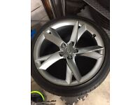 "19"" Genuine Audi A5 ""Y"" Spoke Alloys x4"