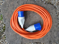 Brand New in Original Packaging, Site to Caravan Mains Connection Lead, 15 Metres
