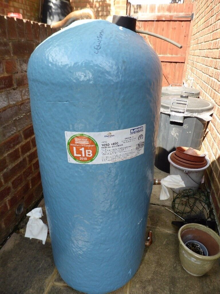 Hercal Copper Hot water cylinder 1050mm x 400 mm   in Swanley, Kent ...