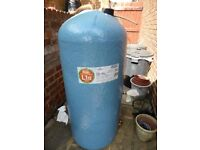 Hercal Copper Hot water cylinder 1050mm x 400 mm