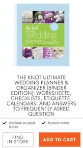 """The Knot"" Wedding Planner"