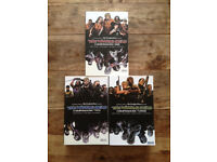 The Walking Dead Compendium 1, 2 and 3. Graphic novels of the TV series. Great condition £65