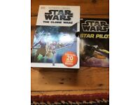 Star Wars boxed selection of reading books for primary aged children.
