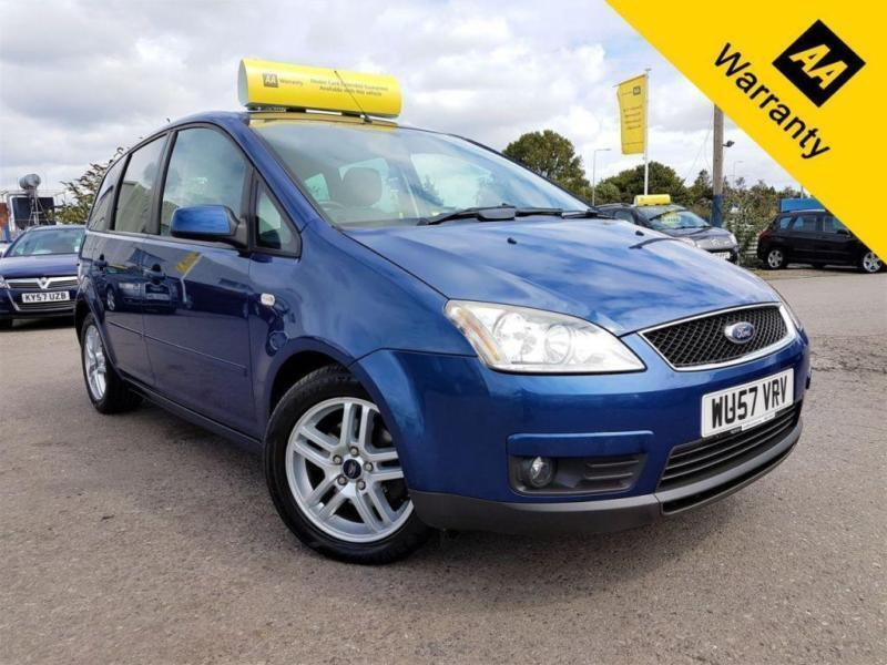 2007 FORD C-MAX 1.6 C-MAX ZETEC TDCI 108 BHP! P/X WELCOME! AUTO! 63K MILES ONLY!