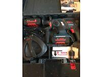 Bosch hammer drill sds 36v lithium cordless