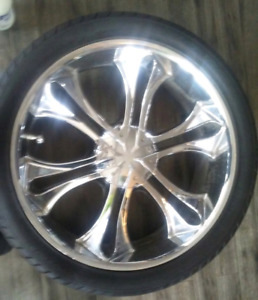 24's with rubber 1000obo 6x139.7