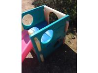 Little Tikes Climbing Cube and Slide