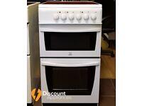 50cm Indesit Ceramic Cooker & Sperate Grill - 6 Months Warranty