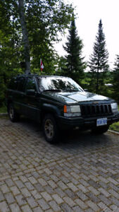 1996 Jeep Grand Cherokee green Other