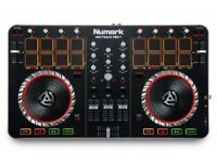Numark Mixtrack Pro II All-In-One 2-Channel DJ Controller, Drum Pads and Touch-activated Jog Wheels