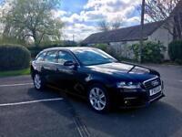 LOOK HIGH MILES! Audi A4 2.0 Se Avant Tdi Estate 2011 / 11 REG / Black / Finance /* S LINE SPORT