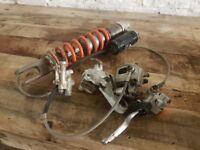 KTM 250 350 2012 - 2015 SHOCK AND BRAKES