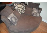Cuddle Chair & Scatter cushions