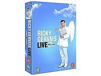 Ricky Gervais Live - Animals/Politics (DVD, 2006, 2-Disc Set) - Sealed in Box