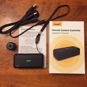 CamFi Remote Camera Controller for Nikon Canon (and  Sony)