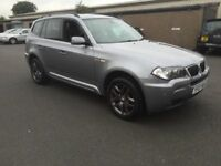 STUNNING 2007 BMW X3 M SPORT DIESEL 1 YEARS MOT FULL SERVICE HISTORY PX WELCOME £3995