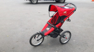 Copilot baby or small child jogging stroller
