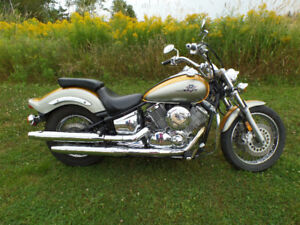 yamaha Vstar 1100 custom and 650 vstar