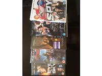 Set of 5 Brand New Unopened DVDs