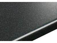 New valenca black kitchen worktop