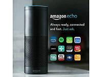 Amazon echo. Alexa