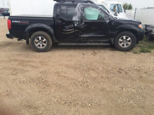 2012 Nissan Frontier Pickup Truck for parts