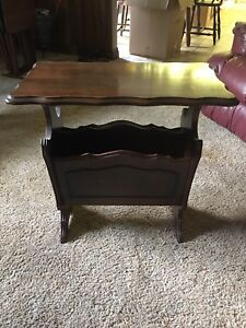 Amazing refinished End Table $60 or BO
