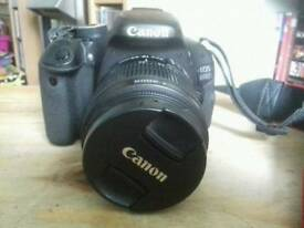 Canon 600D plus lenses & accessories