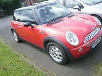 MINI COOPER,2002,EXCEPTIONAL CONDITION FOR YEAR, FULL MOT ,LOW MILES,ELECTRIC PANORAMIC SUNROOF