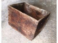 J Walker & Son, Kilmanock, Vintage Whiskey Box WELL USED NICE TO DISPLAY