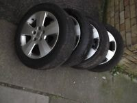Vauxhall astra estate club - 4 wheel and tyre set (or individually if required) - 1.7 cdti