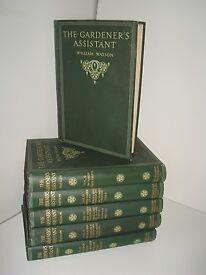 Classic set of gardening manuals