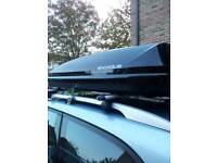 Roof box Exodus 360 litres rent hire only