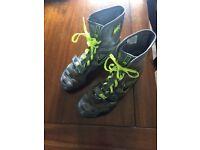 Nike Hyperko Volt/Grey boxing boots.