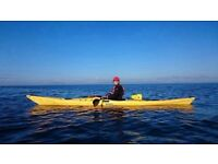 Scorpio PH Sea kayak 17-1/2ft. Fantastic boat for sea or lake. Stable, fast and roomy.