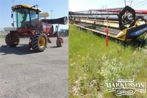 2014 NH SR200 Swather & 36' OR 40'  Header - 190HP (No DEF),