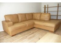 Leather Sofa Corner Unit