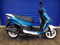 2016 SYM JET 4 125cc SPORTS SCOOTER , VERY CLEAN LOW MILES