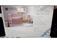 Brand new mini baby cot