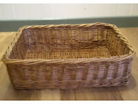 Wicker Basket ideal Kitchen, Bathroom, Bedroom, Dog, Cat Bed or Storage