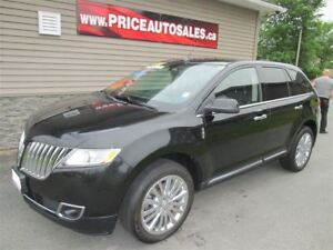 2011 Lincoln MKX HEATED/COOLED LEATHER-NAVIGATION-GLASS ROOF!!!