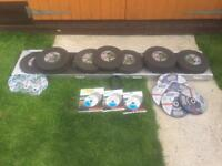 OVER 100 BRAND NEW CUTTING DISCS - GRINDER - OVER £900 worth - JUST £125