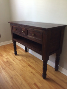 TV console, sofa table or Kitchen Island