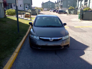 2010 HONDA CIVIC DX 4 CLYNDER SEDAN FOR SALE