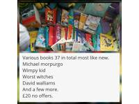 Various kids books