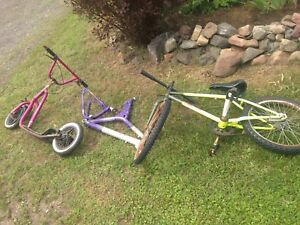 Free bmx, scooter and bike parts