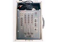 Vestax PMC017A mixer, in flight case